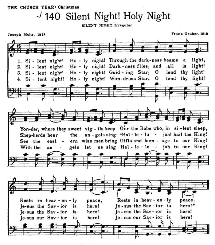 silent night 1 meaning to silent night lyrics by christmas songs: silent night, holy night / all is calm, all is bright / round yon virgin mother and.