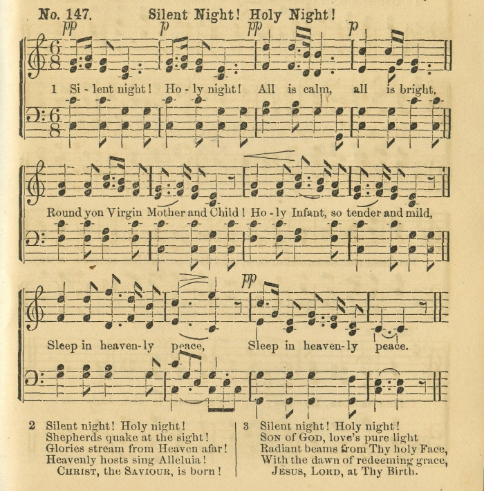 Christmas Sheet Music Silent Night