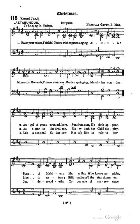 hymn tunes with varied harmonies pdf