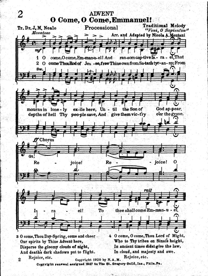 Print and download O Come O Come Emmanuel  Violin Sheet Music Home  Digital Sheet Music Collection