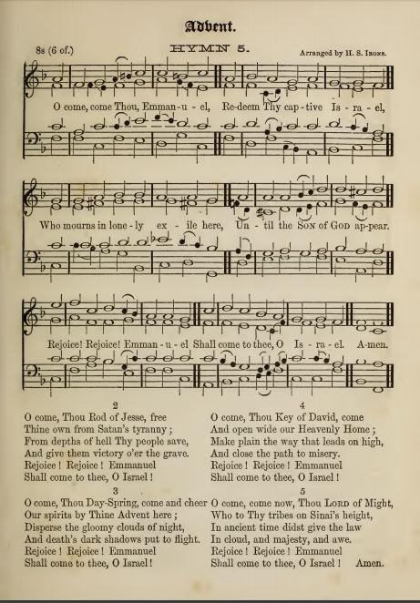 Notes on The 'O' Antiphons & Veni, Emmanuel