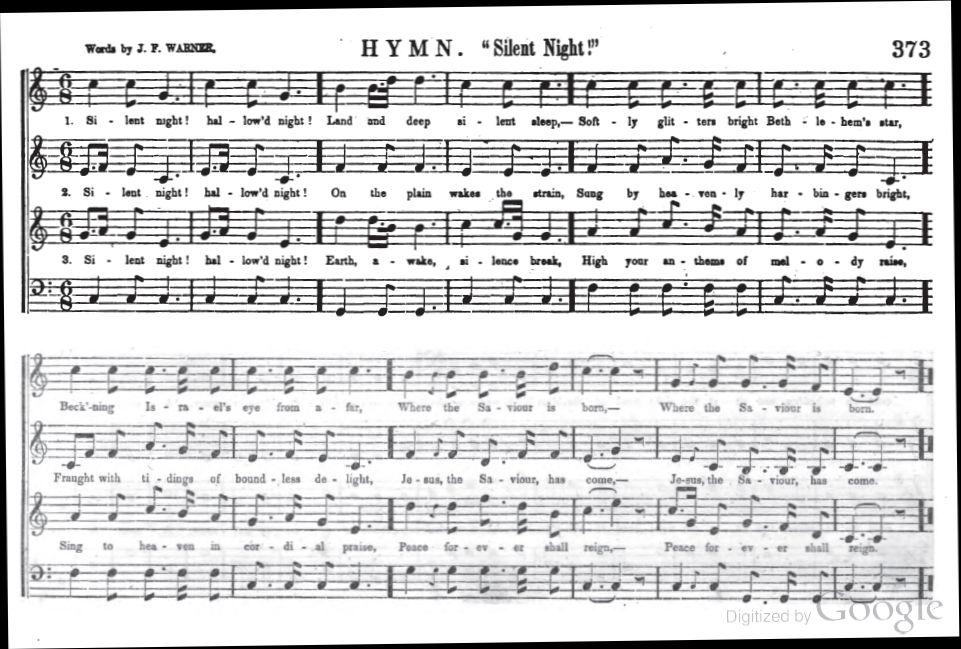 961 x 649 jpeg 129kB, Silent Night Lyrics | New Calendar Template Site