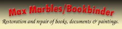 Please visit Max Marbles, Bookbinder.