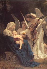 Song of the Angels - Bouguereau