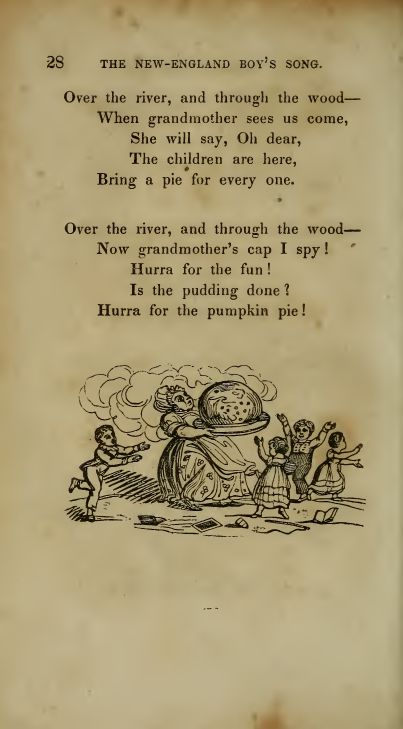 Image result for vintage over the river and through the wood sheet music