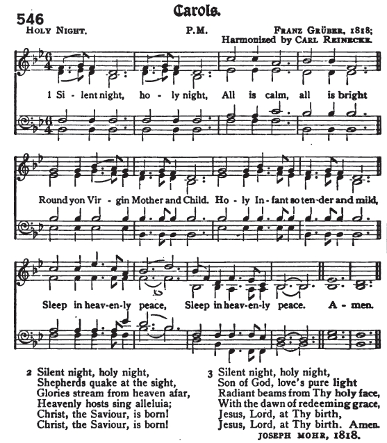 Silent night holy night young translation for Chicago house music songs