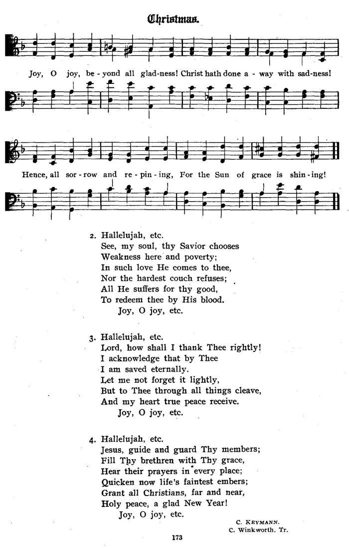 Christmas Hallelujah Sheet Music.Hallelujah Hallelujah O Rejoice