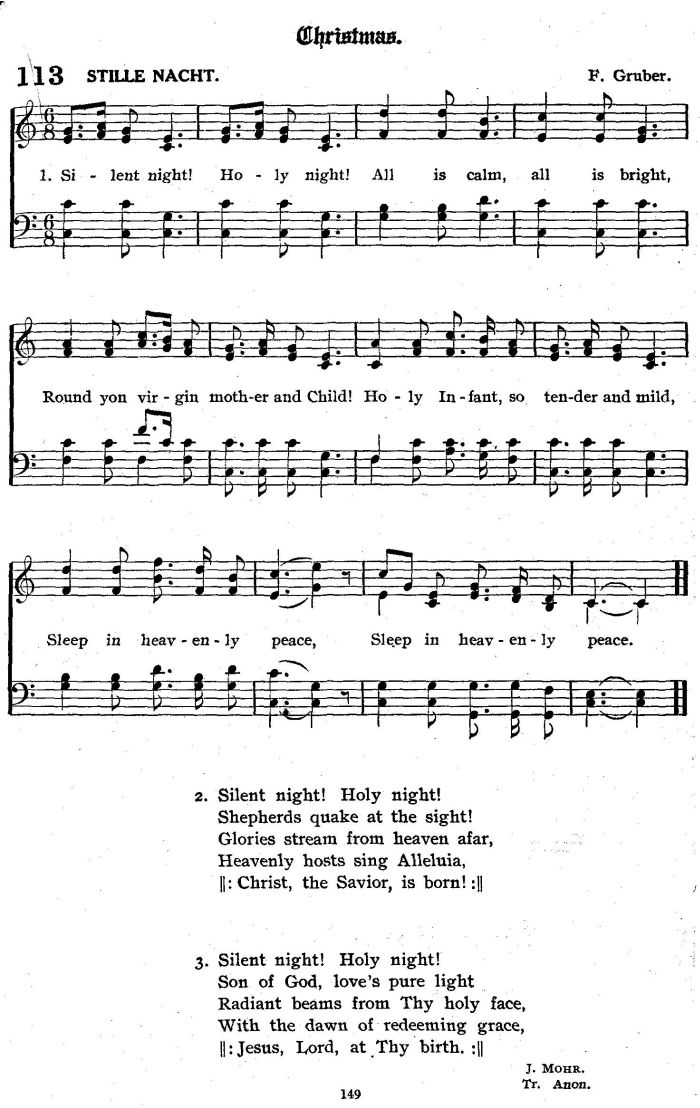 Silent Night Holy Night Young Translation