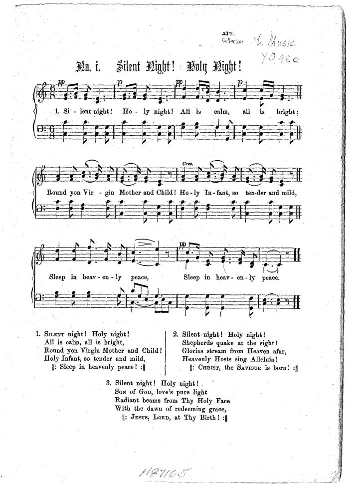 Lyric day n night lyrics : Silent Night, Holy Night - Young Translation