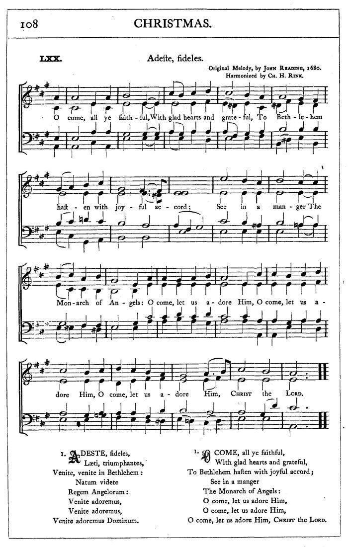 o come let us adore him sheet music - Solid.graphikworks.co