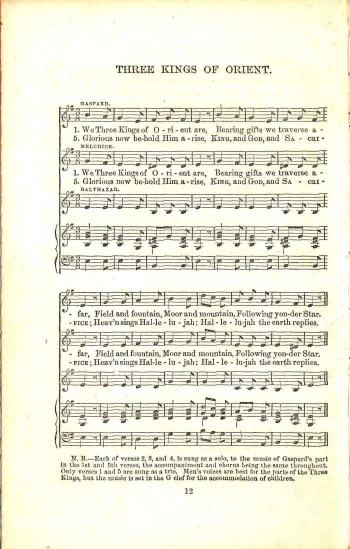 picture about We Three Kings Lyrics Printable called We 3 Kings Of Orient Are