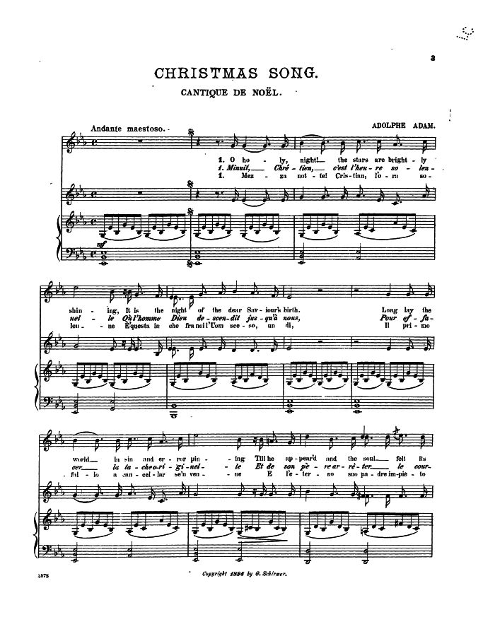 Lyric grand piano lyrics : O Holy Night