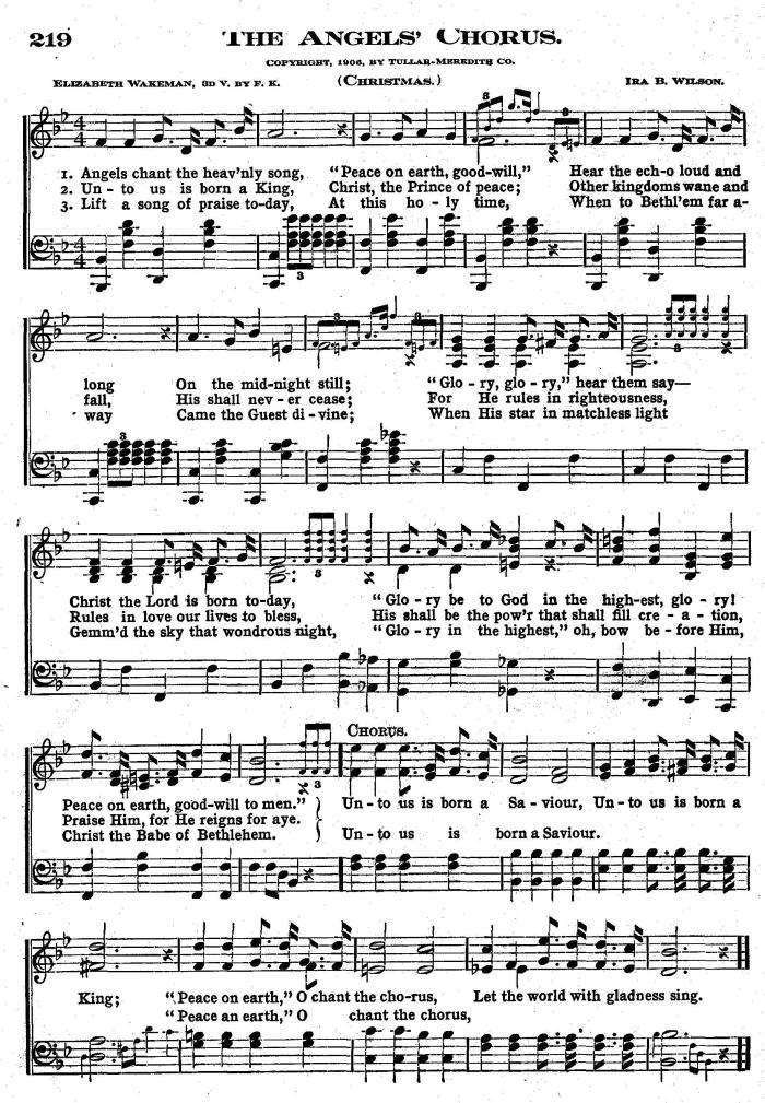 The Angels Chorus