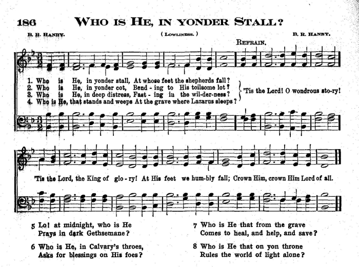 Who Is He In Yonder Stall - Version 1
