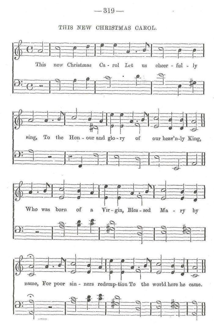 Christmas Carol Music.This New Christmas Carrol