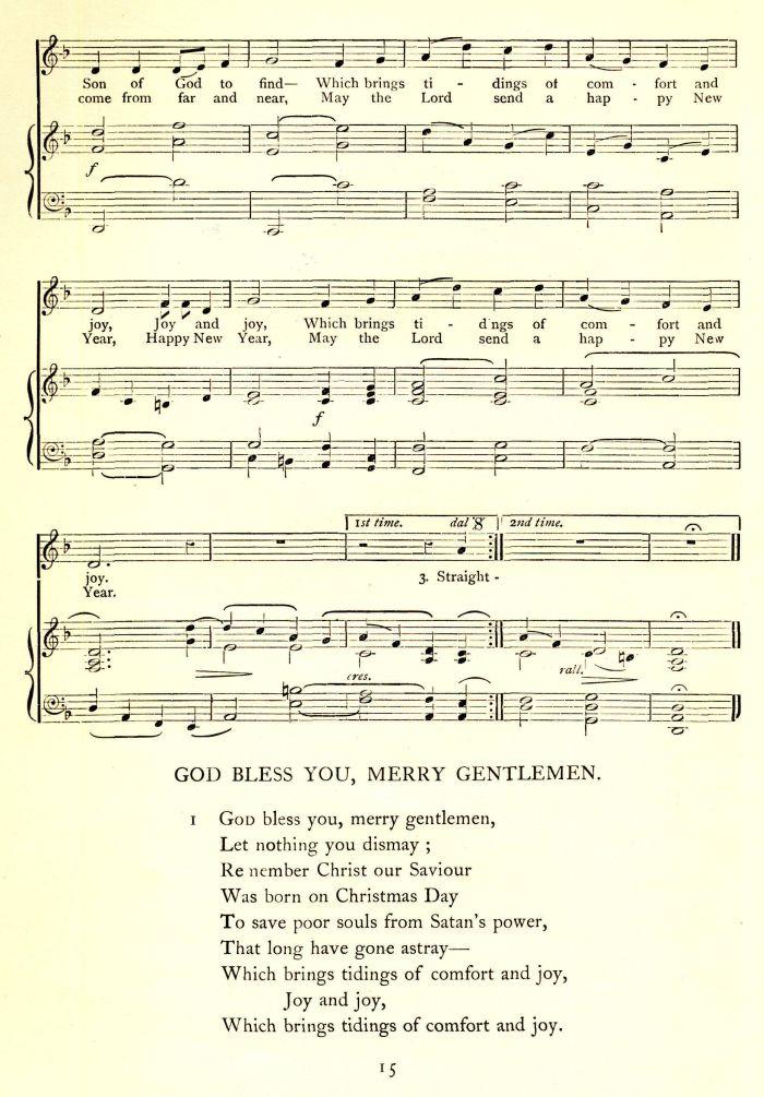 God Rest You Merry, Gentlemen - Version 1