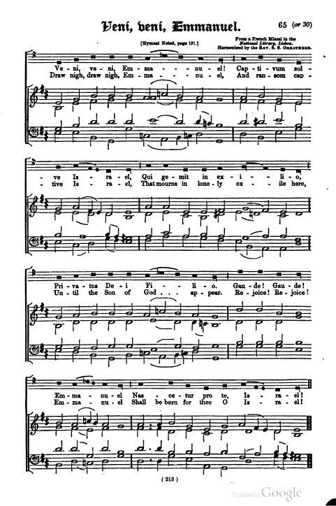 O Come, O Come, Emmanuel - Version 1