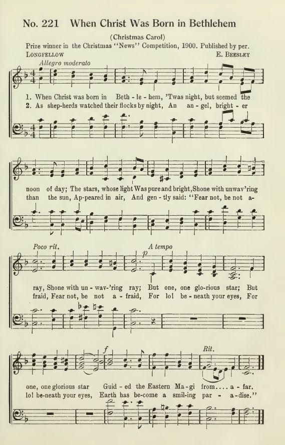 When Christ Was Born In Bethlehem Neopolitan