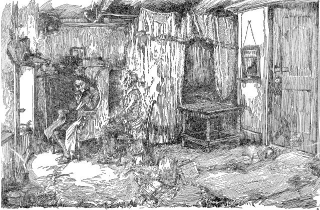 How does Dickens establish Scrooge's character, the setting and the atmosphere in Stave One of AChristmasCarol?