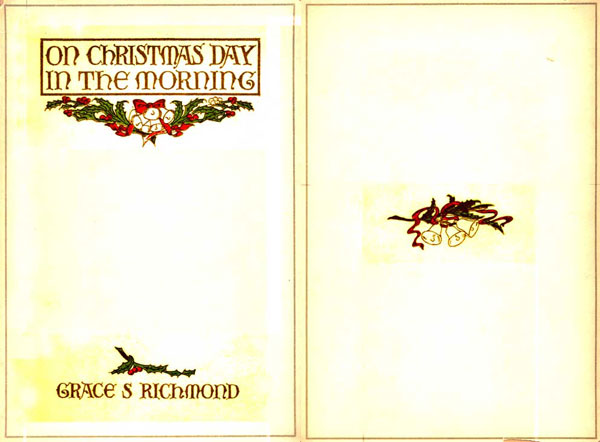 The Project Gutenberg eBook of On Christmas Day in the Morning, by Grace S. Richmond