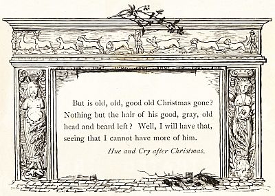 Image result for washington irving old christmas
